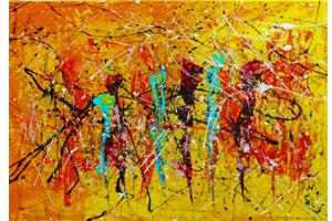 Dance caroline vis modern expressionistic art
