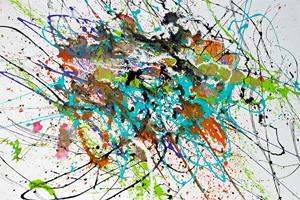 Movement  caroline vis abstract expressionistic art kl kl