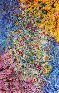 rainbow by artist caroline vis