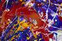 Peinture abstraite acrylique  caroline vis
