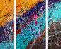"""Triptych """"Pure Love"""" 150 cm H 170 cm L_"""