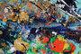 """""""Pollock`s Dream"""" 90 cm x 200 cm_"""