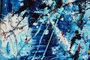 """""""Dripping Blue XL"""" Art 130 cm x 170 cm_"""