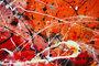Artiste peintre caroline vis art moderne du style de Pollock