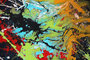 abstrai expressionism by caroline vis dripping pollock style