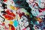 kunst schilderij pollock style caroline vis